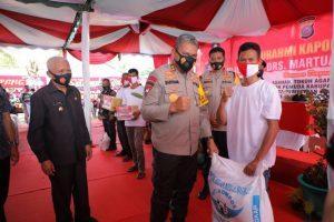 Kapolda Sumut Kunjungi Asahan, Bupati Sebut Akan Hibahkan Kapal Patroli ke Polres