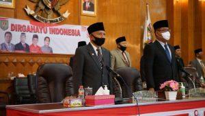 Bupati Asahan Hadiri Rapat Paripurna DPRD dengan Agenda Mendengarkan Pidato Kenegaraan