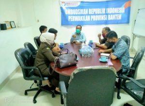 Tingkatkan Pelayanan Publik, Kejati Banten Minta Arahan Ombudsman