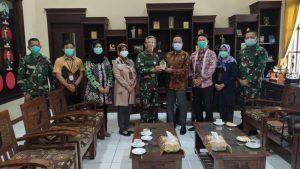 Dorong Peningkatan Pelayanan Publik, Ombudsman Banten Temui Danrem 064/Maulana Yusuf
