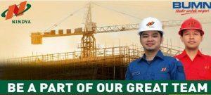 Kumpulan Lowongan Kerja BUMN PT Nindya Karya Terbaru dari Berbagai Kota