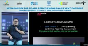 Ivendo Bersama Unilever Indonesia Gelar Pelatihan Officer CHSE Bagi Pelaku Event & MICE
