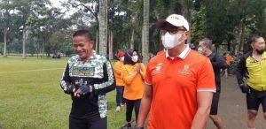 Jalin Silaturahmi, PTPN II dan Kodam I/BB Gowes Bersama