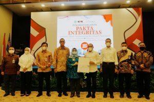 KPK Sambangi Bank Sumut, Saksikan Penandatanganan Pakta Integritas Antikorupsi