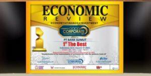 Bank Sumut Dianugerahi The Best GCG Award