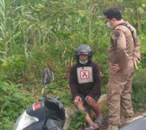 Gegara Pamer Kelamin di Jalanan, Pemuda Ini Ditangkap Satpol PP