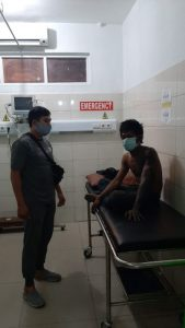Gegara Curi Kabel PLN, Badan Terbakar, Ditangkap Polisi Pula