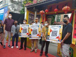 Pakai QRIS QRen Bisa Bayar e-Parkir dan Kuliner di Kesawan City Walk