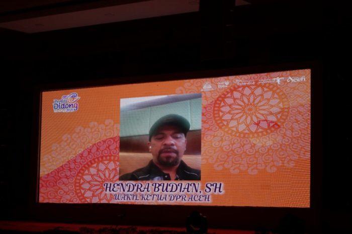 Wakil Ketua DPR Aceh, Hendra Budian, SH