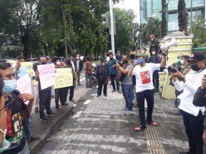 Statment Provokatif Jadi Pemicu Demo Lanjutan di Kantor Wali Kota Medan