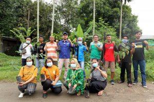 Peringati HLHS 2021, Walhi Sumut dan Bitra Tanam 100 Pohon di Lahan Adat BPRPI
