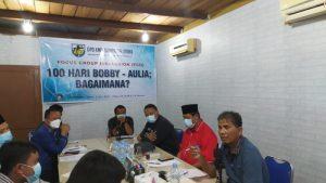 KNPI Sumut Diskusi 100 Hari Kerja Bobby-Aulia: PKS Kritik, PDIP Dorong Skala Prioritas