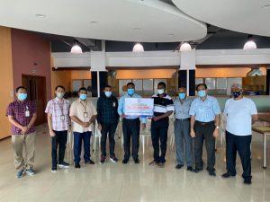 BSC Beri Bantuan ke 4 Rumah Ibadah Agama Hindu