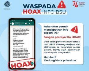 Awas Hoax BSU Minta Data Diri Sampai Nama Ibu Kandung, Bahaya!