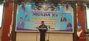 Samsir Pohan Resmi Buka Musda XV KNPI Tanjung Balai