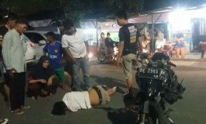 Jalan Berlubang di Medan Kembali Telan Korban, Pemotor Sampai Menggelepar dan Memuntahkan Darah